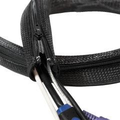 LogiLink Gaine pour câble, 2,0 m, capacité: 20 mm, noir