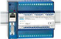 W&T Web-IO 4.0 numérique, 12x entrées, 12x sorties