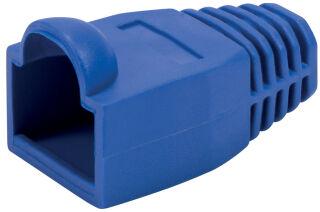 LogiLink Manchon de protection pour connecteur RJ45, bleu