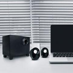 LogiLink Système de haut-parleurs 2.1, 9 watts