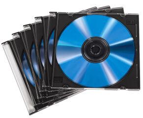 hama Boîtier vide CD 'Slim', Slim case, boîte en plastique