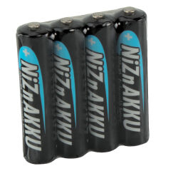 ANSMANN Pile rechargeable nickel-zinc, Micro AAA, 900 mAh