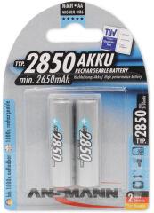 ANSMANN Pile rechargeable NiMH Premium, Mignon AA, 2.850 mAh