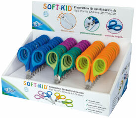 WEDO Ciseaux de bricolage Soft-Kid, pointu, longueur: 115 m