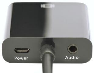 DIGITUS convertisseur HDMI vers VGA, noir, entrée: HDMI de