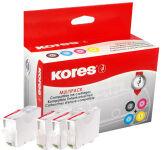 Kores MultiPack encre G1513KIT remplace Canon PGI-525BK/