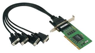 MOXA carte PCI sérielle 16C550 RS-232, 4 ports