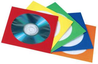 hama Pochette papier pour CD/DVD, assorti