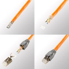 LogiLink Douille anti-pli pour connecteur RJ45,