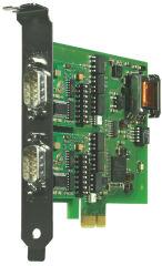 W&T carte PCI Express 2xRS232/422/485, isolation galvanique