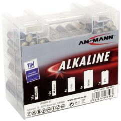 ANSMANN Boîte de piles alcalines 'RED', boîte de 35