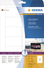 HERMA Etiquette pour cassettes vidéo SPECIAL, 147,3 x 20 mm