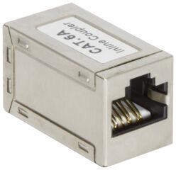 LogiLink Connecteur de câbles Patch Cat. 6A, blindé, mince