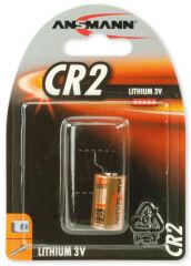 ANSMANN Pile pour appareil-photo lithium 'CR2', 3 volt,