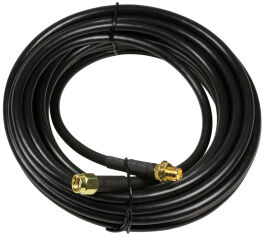 LogiLink Rallonge pour antenne intérieure WiFi, 5 m, noir