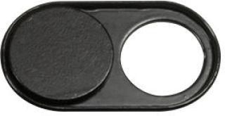 LogiLink Cache Webcam pour notebook/smartphone/tablette,noir