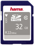 hama Carte mémoire High Speed Gold SecureDigital, 32 Go