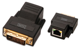 DIGITUS Amplificateur de signal DVI via Cat.5, jusqu'à 70 m