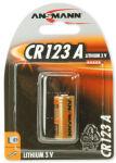 ANSMANN Pile pour appareil-photo lithium 'CR123A', 3 Volt,