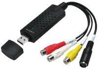 LogiLink Grabber vidéo audio USB 2.0, couleur: noir