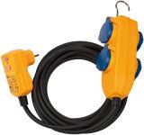 brennenstuhl Schutzadapterkabel IP54, 4-fach, Länge: 5,00 m