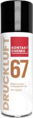 KONTAKT CHEMIE DRUCKLUFT 67 Bombe à air comprimé, 200 ml