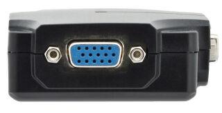 DIGITUS répartiteur VGA 350 MHz, 2 ports, 75 m de portée