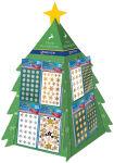 AVERY Zweckform ZDesign Stickers de Noël dans un présentoir