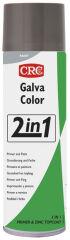 CRC Laque protectrice de peinture GALVACOLOR 2in1, noir,