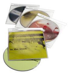 DURABLE Etui CD-/DVD 'TOP Cover' pour 1 CD, PP, transparent
