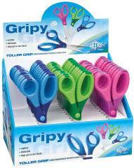 WEDO Ciseaux de bricolage Gripy, pointu, longueur: 130 mm