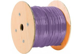 câble monobrin F/UTP CAT6 violet LS0H RPC Dca - 500 m