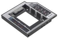 DIGITUS Rack pour disque dur 2,5', hauteur: 9,5 mm