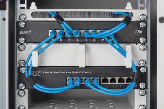 DIGITUS Switch 10' Gigabit Ethernet PoE, 8 ports