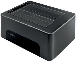 LogiLink Docking Station USB 3.0 pour disque dur 2x2,5'/3,5'