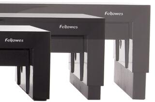 Fellowes Support pour écrans Designer Suites, noir
