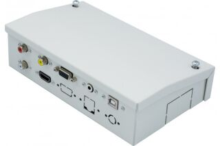 Boîtier déport métal multimédia HDMI/VGA/Jack/CINCH/USB