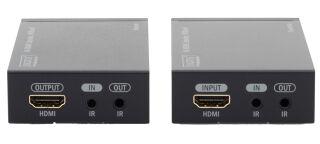 DIGITUS Kit de rallonge 4K HDMI, Local & Remote, 40 m