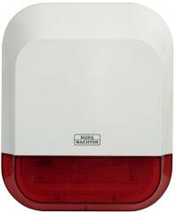 BURG-WÄCHTER SmartHome Alarme extérieure BURG protect, blanc