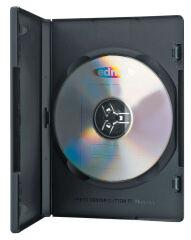 ednet Boîtier vide pour DVD, noir