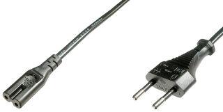 DIGITUS Câble d'alimentation Euro 8 - petits appareils, 1,2m