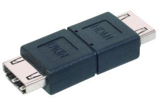 DIGITUS HDMI Adaptateur, fiches femelles HDMI-A, noir