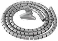Fellowes Gaine de câbles Câble Zip, longueur: 2,0 m, argent