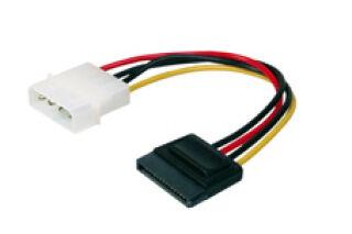 DIGITUS Câble d'alimentation interne, fiche mâle IDE - SATA