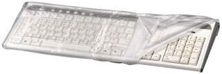 hama Housse anti-poussière pour clavier, transparent