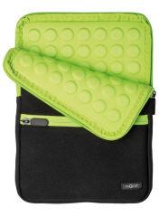PAGNA Housse 'Go' pour PC-tablette, noir / vert tilleul