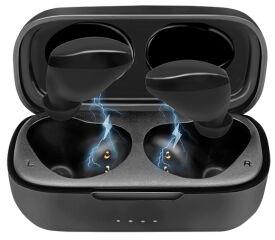 LogiLink Ecouteurs Bluetooth 5.0 True Wireless In-Ear, noir