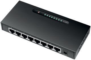 LogiLink Switch de bureau Gigabit Ethernet, 8 ports, noir