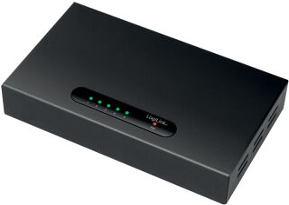LogiLink Switch de bureau Gigabit Ethernet, 5 ports, noir