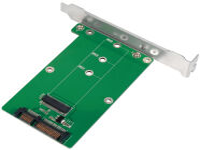 LogiLink Carte d'interface SATA - M.2 SATA SSD
